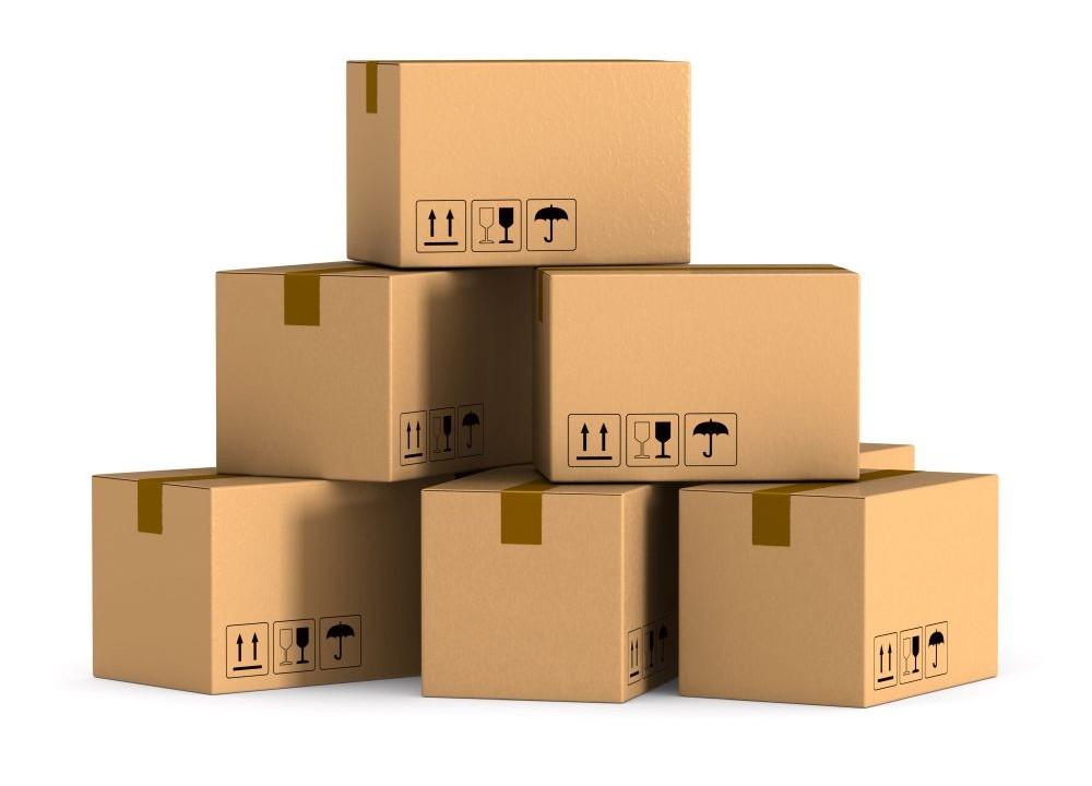 Cięcia kartonu. Zadruku kartonu oraz bigowania. Kartony wysyłkowe, kartony klapowe.